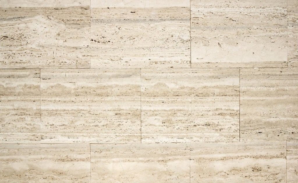 Beige Travertine stone tiles